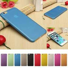 Ultra Thin Dirtproof Silicone Rubber Cover Case Skin for iPhone X 8 7 6 5 4 Plus