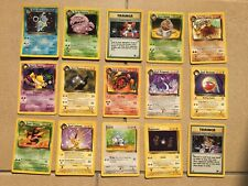 POKEMON TRADING CARD GAME CARTE SET TEAM ROCKET UNLIMITED EDIZIONE ENG WIZARDS