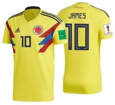 ADIDAS JAMES RODRIGUEZ COLOMBIA HOME JERSEY FIFA WORLD CUP 2018 PATCHES.