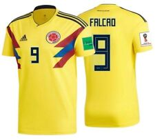 ADIDAS RADAMEL FALCAO COLOMBIA HOME JERSEY FIFA WORLD CUP 2018 PATCHES.