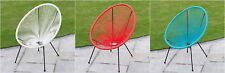 Stylish String Moon Chair Steel Tube Frame Legs For Indoor/ Outdoor Luxury Chair