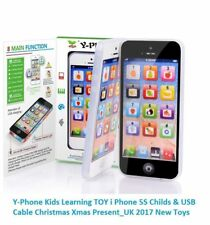 KIDS TOY IPHONE BABY CHILDREN'S FOR LEARNING EDUCATIONAL YPHONE LIGHTUP 4S 5 NEW