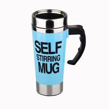 Automatic Electric Stainless Steel Self Stirring Creative Gift Cup 500ml