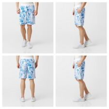Adidas Graphic Allover Print Shorts Fleece Mens Summer Cotton Surfing Shorts