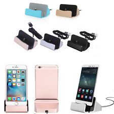 Micro USB Sync Data Charger Dock Charging Stand Base Cradle For Android iPhone #