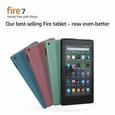"Amazon Kindle Fire 7"" Tablet 16GB Wi-Fi with Alexa, (7th Gen) - BLACK !!!!"