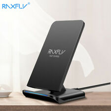 RAXFLY QI Wireless Charger For Samsung S9 S8 Plus Galaxy Note 8 S7 S6 Edge 5V/1.