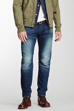 """G-STAR RAW MENS 5620 3D LOW TAPERED MEDIUM AGED DESTROY JEANS MADE IN ITALY 30"""""""