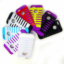 New Silicon Random Color Pattern Design Protection Cover Case for iPhone 5  & 5S