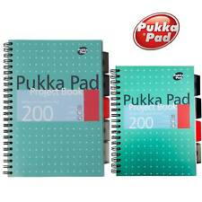 A4 Project Note Book Metallic Jotta Ruled Lined Pad School Office - Pukka Pad
