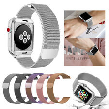 For Apple Watch Magnetic Milanese Luxury Stainless Wrist Band Strap 38/42 mm