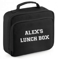 Personalised Lunch Cooler Bag Insulated BPA Free School Work Uni