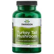 Swanson Superior Herbs Turkey Tail Mushroom 500mg, 120 Capsules