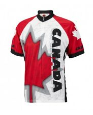 Canada Cycling Jersey by World Jerseys Mens Short Sleeve New bike bicycle