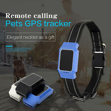 GPS Pet Finder Tracker Real-time Locating GSM Tracking Dog Cat Collar Waterproof