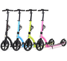 STAR-SCOOTER Patinete City Scooter niños adulto con suspension Plegable | 230mm