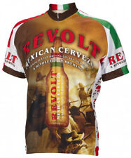 Revolt Cerveza Beer Cycling Jersey by World Jerseys Mens New bike bicycle