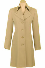 Busy Womens Stone Beige 3/4 Trench Coat Mac