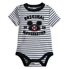 Disney Store mickey Mouse Mouseketeer Bebé Disfraz Talla 0 3 6 9 12 18 24 Meses