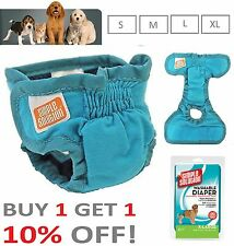 Dog Nappy WashabIe Incontinence Heat Travel Diaper Nappy - Simple Solution