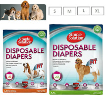 Simple Solution Dog Diaper Disposable Dog Nappy Dog Pants Various Sizes