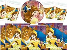 Beauty And The Beast Deluxe Party Tableware Sets Disney Princess Party Kit