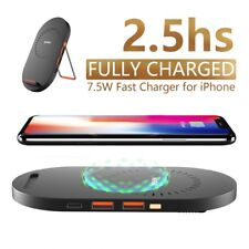 Wofalo 7.5W Qi Wireless Charger For iPhone X 8 Plus 10W Fast Charging Pad For