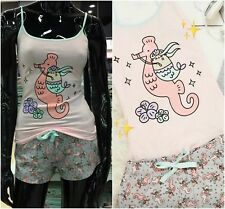 Nuevo Primark Mujer Mujer Pusheen Gris con Like With The Cat Sirena Purmaid