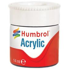 HUMBROL Acrylic METALLIC Various Paint Pots 12ml - Reduced to Clear