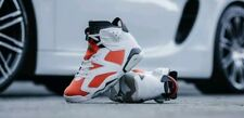"NIKE AIR JORDAN 6 RETRO  ""GATORADE"" TEAM ORANGE-BLACK  384664-145"