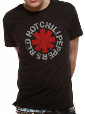 Red Hot Chili Peppers Asterisk Black Rock Unisex Taglie: M,L,XL,XXL Nuovo