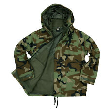 Us Army Militar Woodland Parka Invierno Impermeable Forro Usmc II Guerra Mundial