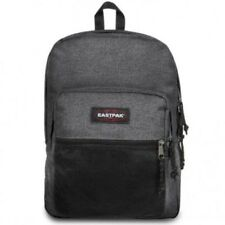 Eastpak Mochila Pinnacle EK060 77H Negro Denim gris liso
