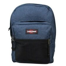 Mochila azul marino liso Eastpak Pinnacle EK060 82D Double Denim