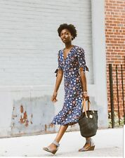H&M SS2018 TREND FLORAL LONG SILK DRESS BLOGGERS HOLIDAYS SOLD OUT WEDDINGS