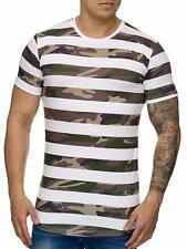 Mimetico T-Shirt Marrone Militare Soldati Air Force Army Mainstream Moda