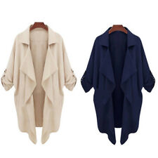 Moda Casual Giacca Donna Autunno Giacca Trench Giacca Cardigan Slim