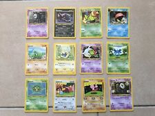 POKEMON TRADING CARD GAME CARTE SET NEO DISCOVERY UNLIMITED ITA ITALIA WIZARDS