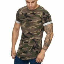 Oversize T-Shirt Mimetico Militare Forze Armate Air Force Army 21 Mainstream