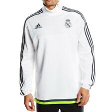 REAL TRG TOP M BLC - Sweat Real Madrid Football Homme Adidas