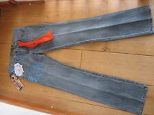 SEVEN 7 chakra pure embroidered diamante bootcut jeans 26 32 WAIST UK 8 12 M XS