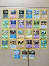 POKEMON TRADING CARD GAME CARTE SET NEO DISCOVERY UNLIMITED ENG ENGLISH WIZARDS