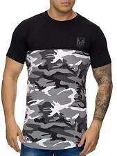 Oversize T-Shirt Mimetico Maglia Lunga Us Air Force Militare Army