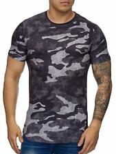 Mimetico T-Shirt Black Mimetico Motivo Stella USA Militare Army Mainstream Moda