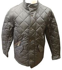 Barbour Boys Chelsea Quilted Jacket in Navy or Black - Age 10/11 & 12/13