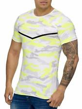 Mimetico T-Shirt Giallo Militare Mimetico Soldati Air Force Army Mainstream Moda
