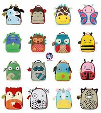 Skip Hop Zoo Lunchie Children's Insulated Food Drinks Cold Animal Lunch Bag Box