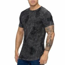 Oversize T-Shirt Black Destroyed Maglia Lunga Black Runthals 91 Mainstream Moda