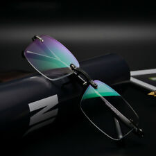 Rimless TR-90 Men's Eyeglasses Reading glasses Reader Optical UV400 +0.00~+4.00