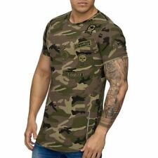 Mimetico T-Shirt Marrone Militare Forze Armate Air Force Army 25 Mainstream Moda